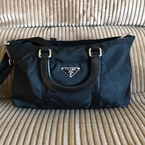 Authentic Prada crossbody handbag